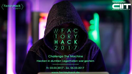 FactoryHack2017: Challenge The Maschine