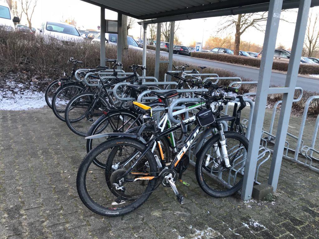Sportlich ins Büro mit dem Fahrrad