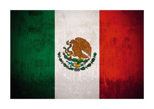 Landesflagge von Mexiko