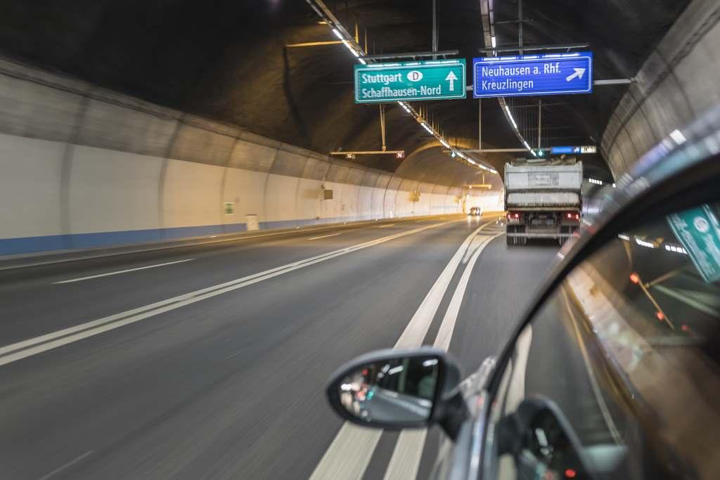 Daten durch den Tunnel schicken