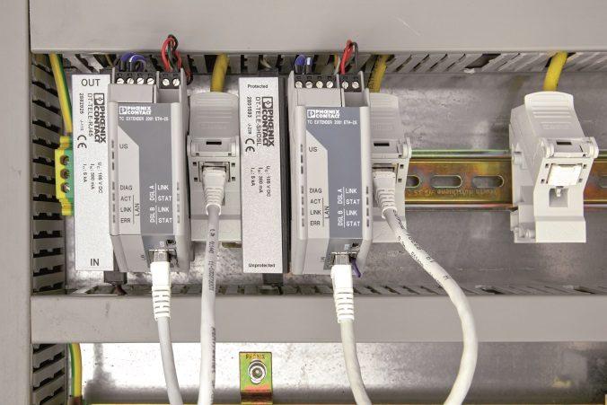 TC Ethernet-Extender von Phoenix Contact