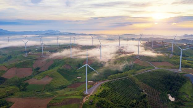 Blitzstrommessung in Windenergieanlagen