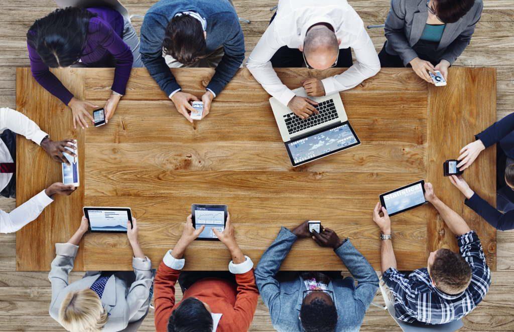 Nutzung von mobilen Geräten in Meetings