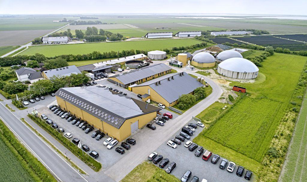 Luftaufname Hauptsitz GP Joule