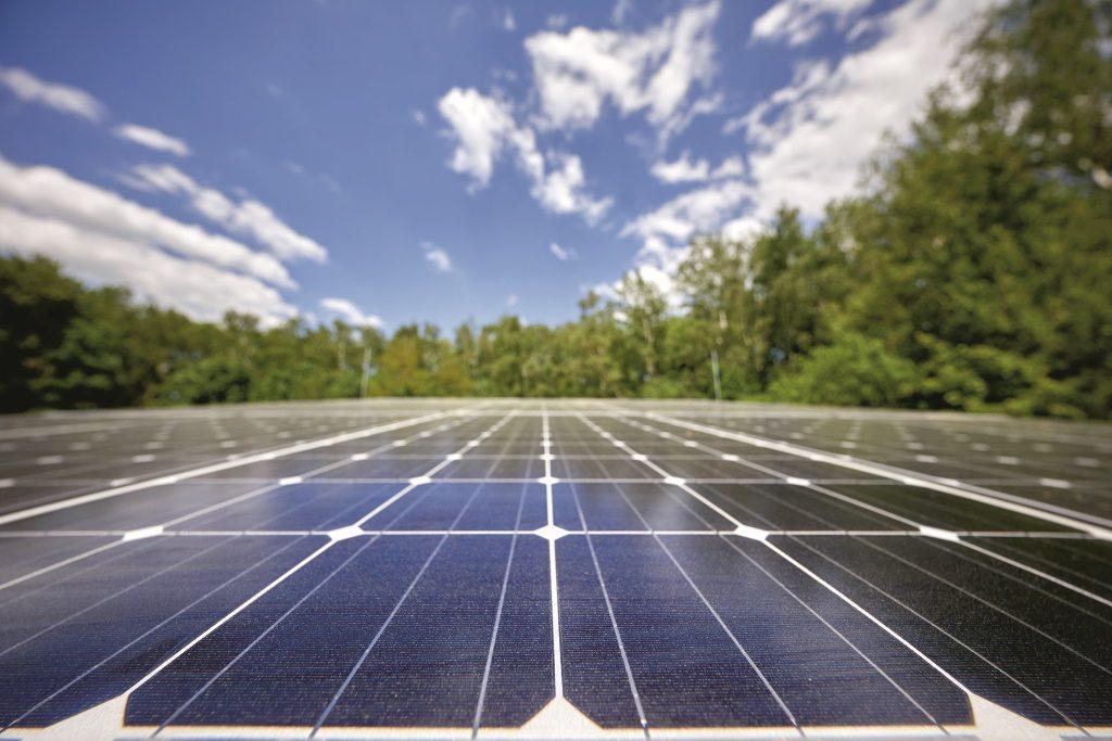 Die Photovoltaikanlage ist an das Gebäudemanagement angebunden