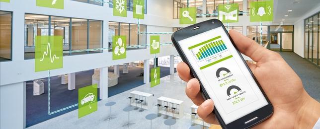 Gebäudemanagement im Facility Management - Alle Daten auf einem Blick per Smartphone