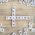 Design Thinking als Scrabble Buchstaben