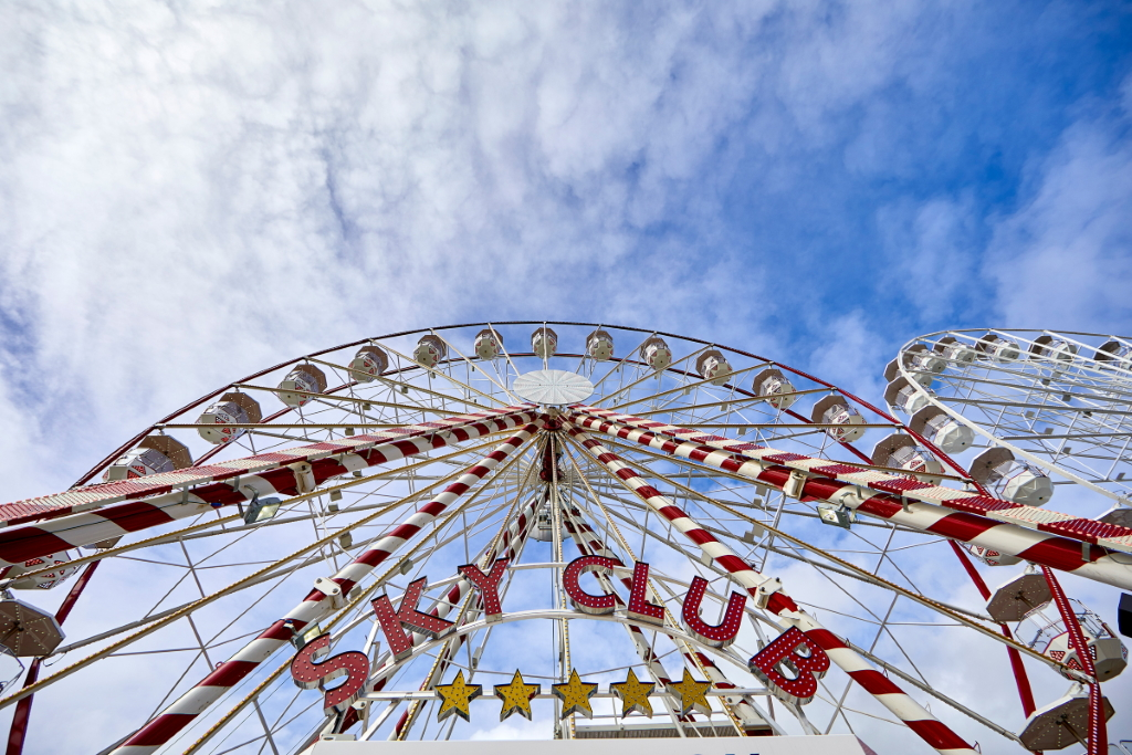 Sicherheit im Riesenrad