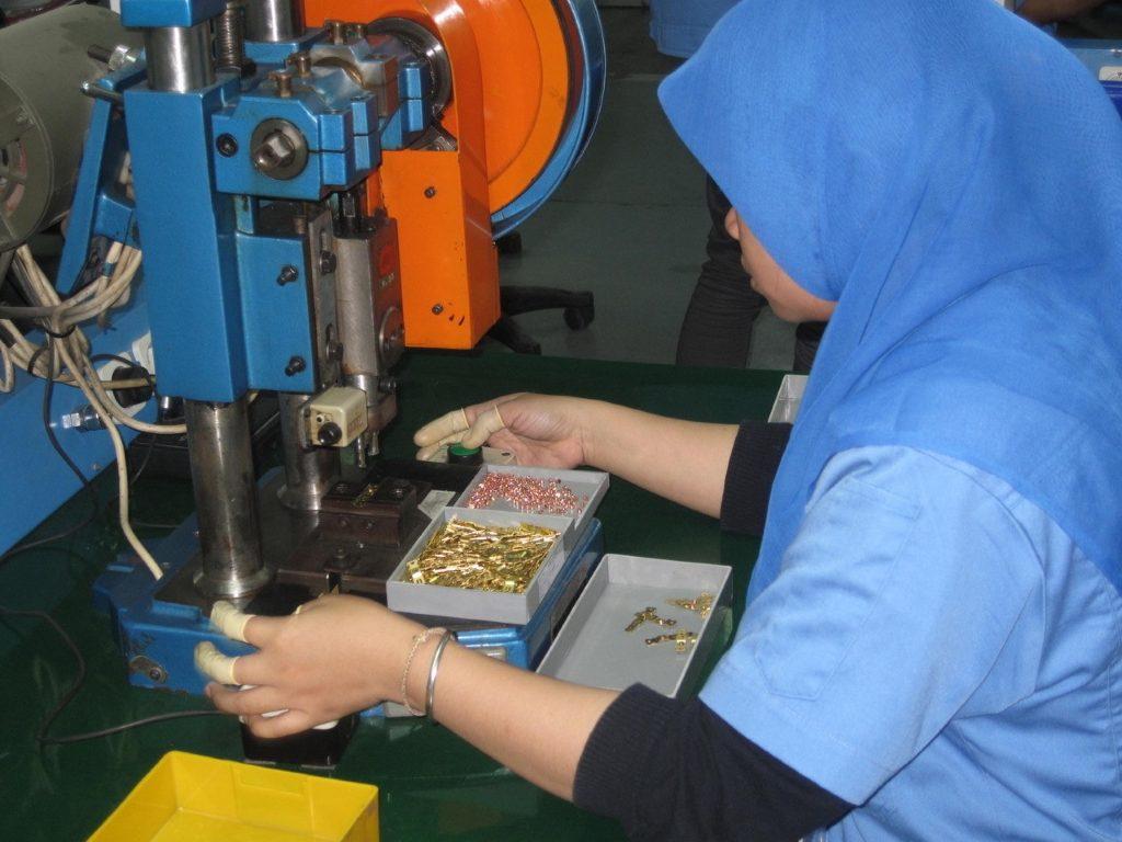Produktion in Surabaya