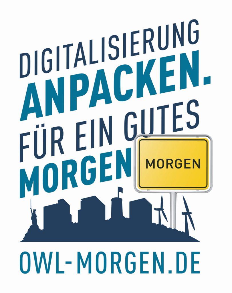 Plakat Schaufensterroute vom Technologie-Netzwerk it's OWL
