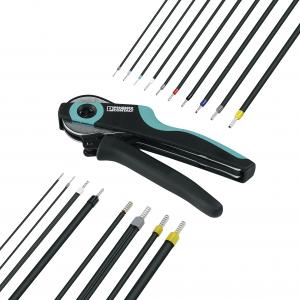 Qual a ferramenta de crimpagem correta para a sua montagem?