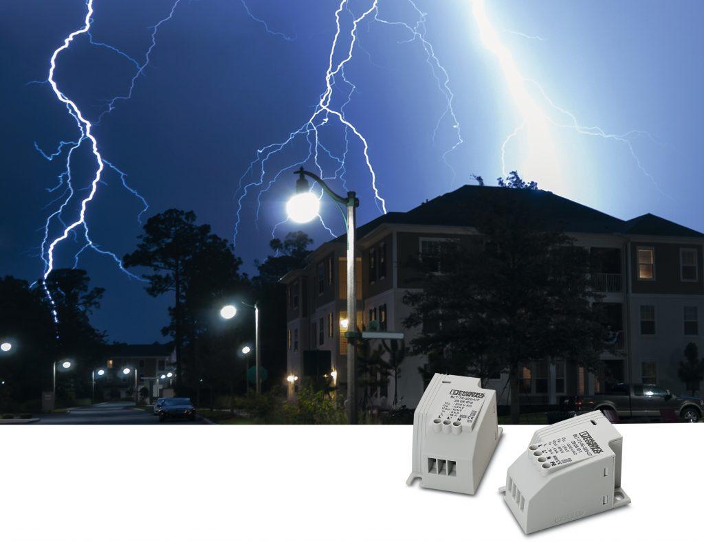 Ochrona oświetlenia LED przed przepięciami w sieci zasilania