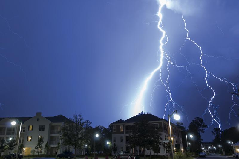 Building_lightning