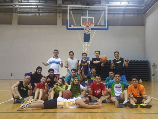 Monthly Exercise - Basketball