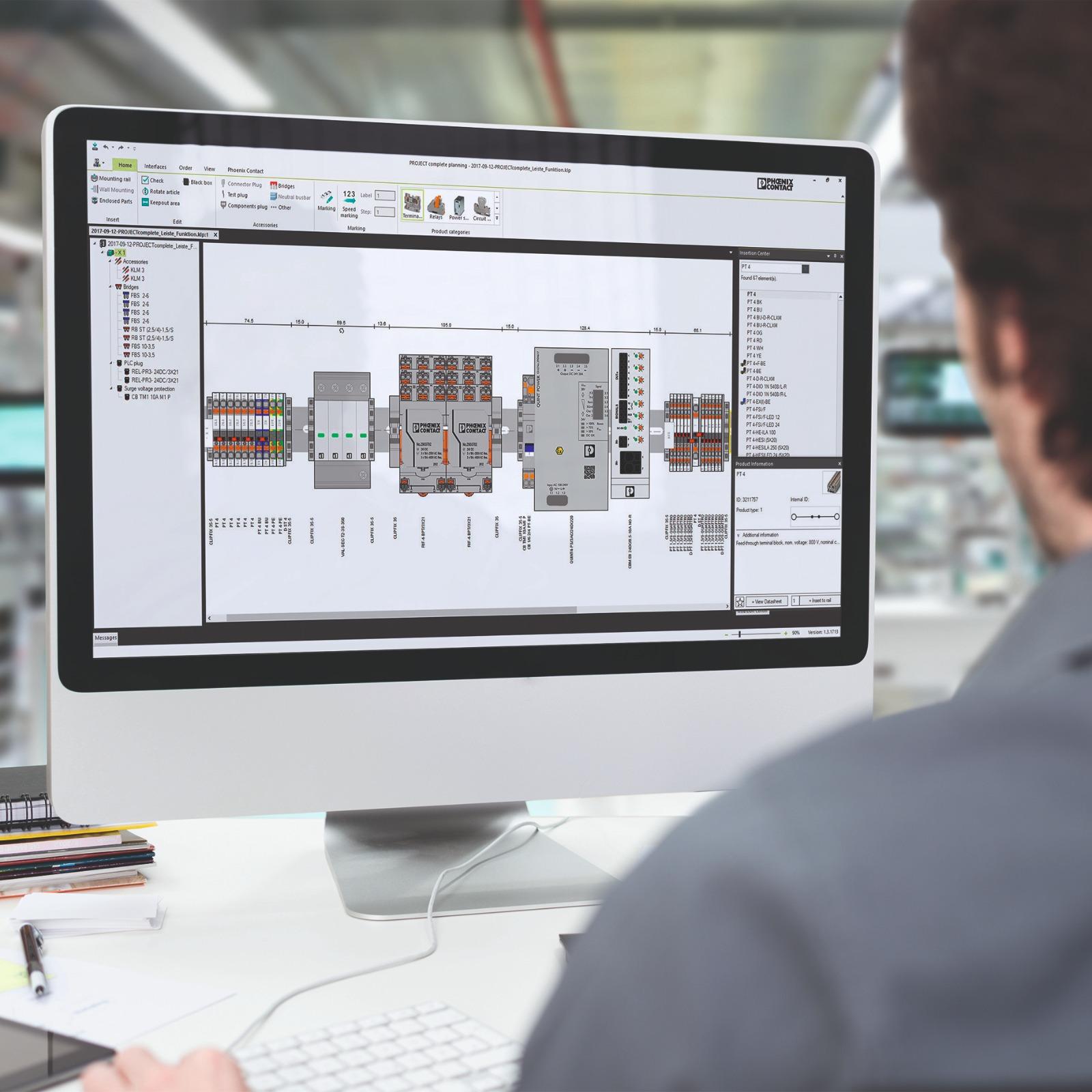 Dijital ürün verileri: Quint power ürün ailesinin dijital kullanılabilirliği sayesinde, sistem planlanması son derece basit hale getirilmiştir.