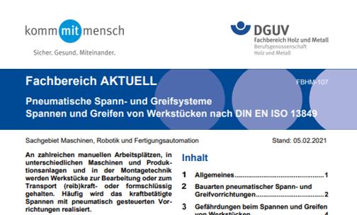 """Neue """"Fachbereich Aktuell"""" der DGUV"""