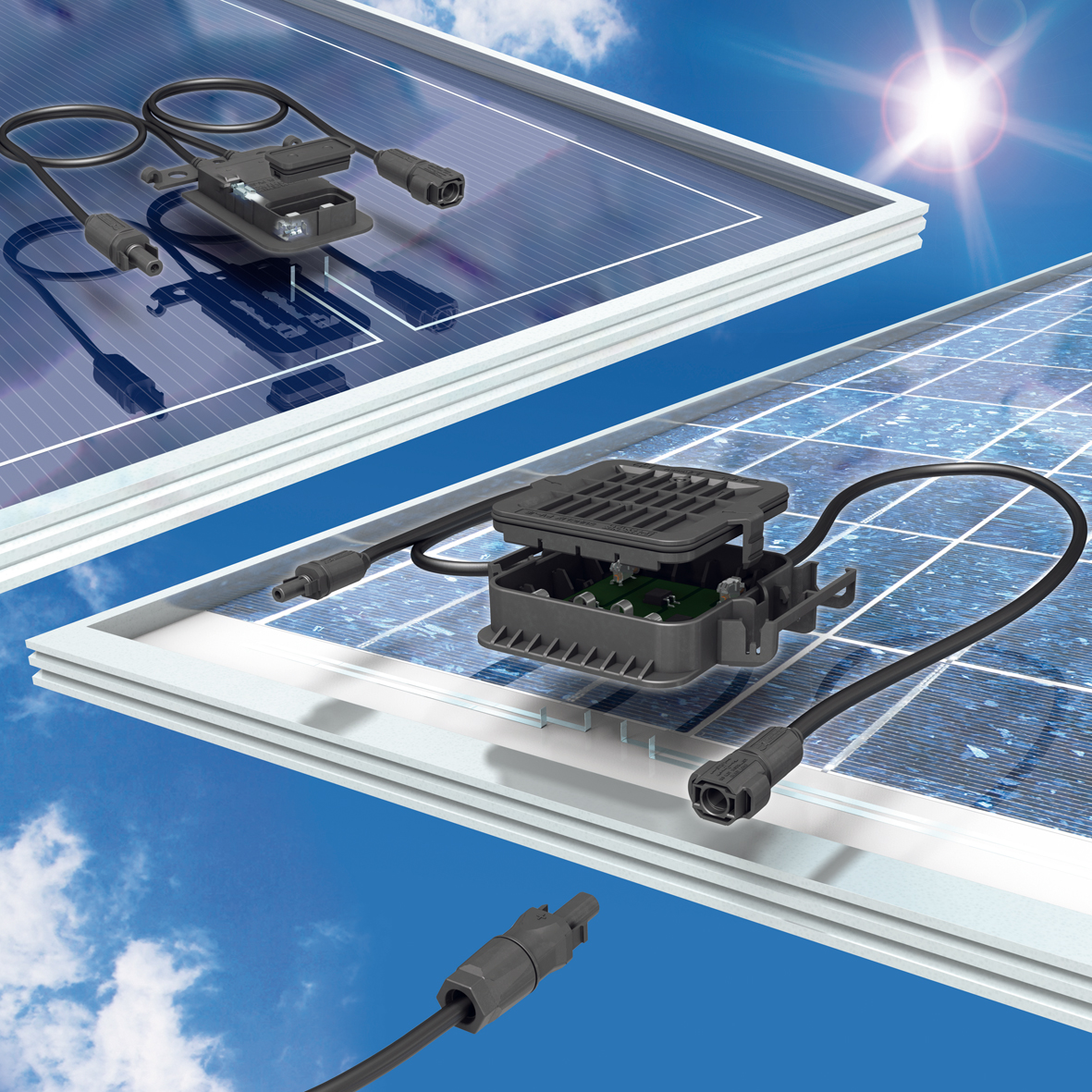 Junction Box for Crystalline or Thin-Film Photovoltaic Modules ...