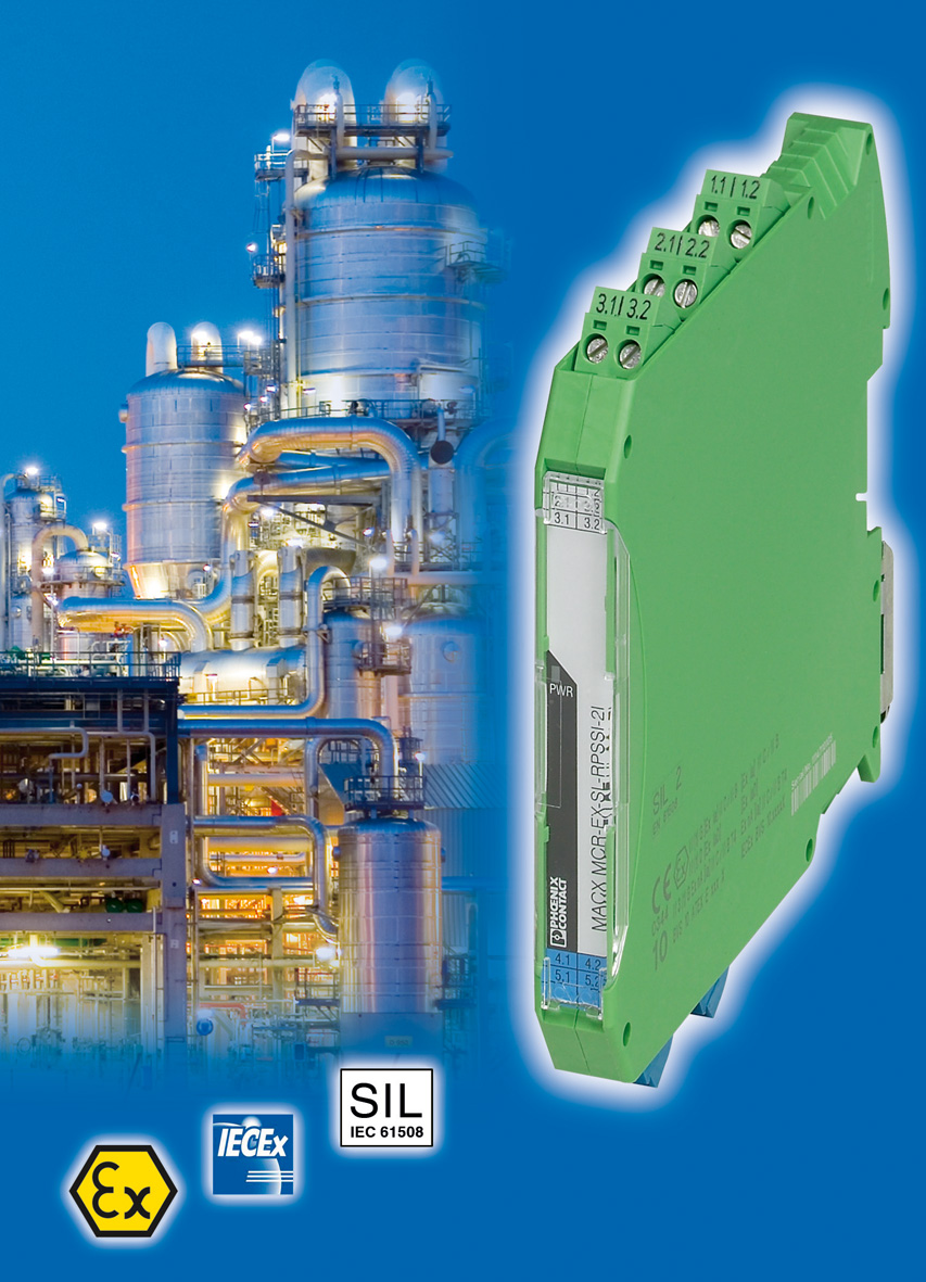 Intrinsically Safe Isolation Amplifier With Two Electrically Wiring This