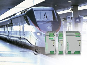 Power supply units for medicine and rail transport