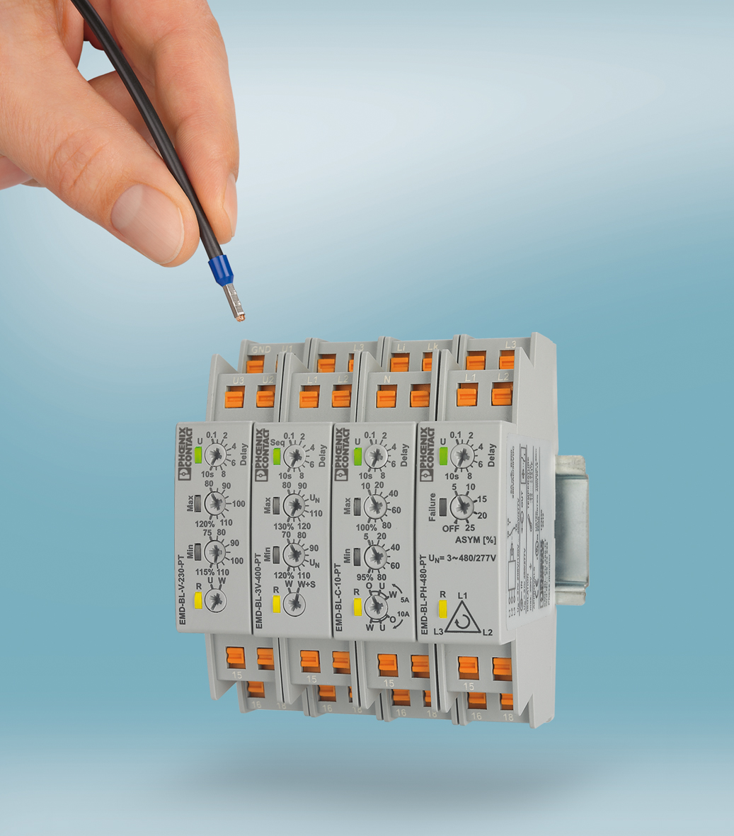 Compact monitoring relays for quick wiring | South East Asia on