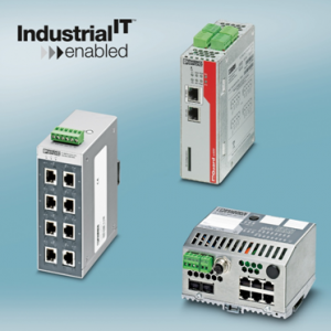 Phoenix Contact Ethernet Components ABB Industrial IT Certified