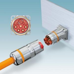 M23 hybrid connectors