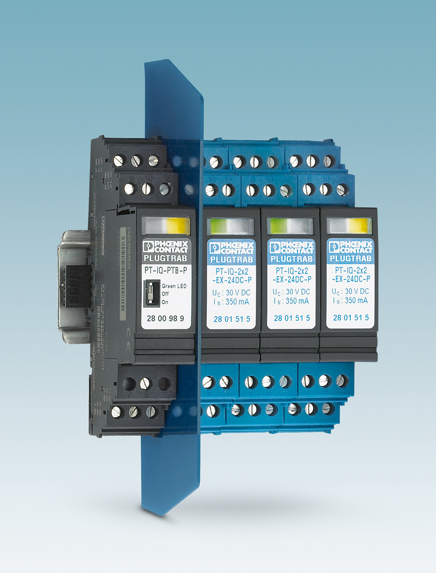 Intelligent Surge Protection For Intrinsically Safe Applications Circuit The Monitoring Of Each Voltage Limiting Component In A Protective Allows Preliminary Damage To Be Detected And This Information